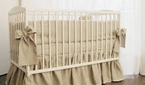 full size of bed neutral gender crib tan bedding linen wall beds baby