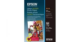 400038 <b>Фотобумага EPSON Value Glossy</b> Photo Paper 10x15 (50 ...