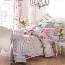 Pink Dorma Nancy Bed Linen Collection   Dunelm   Morley ... & Pink Dorma Nancy Bed Linen Collection   Dunelm Adamdwight.com