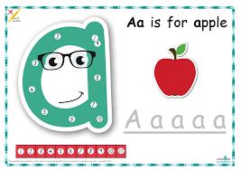 Dot To Dot Alphabet Letter Charts