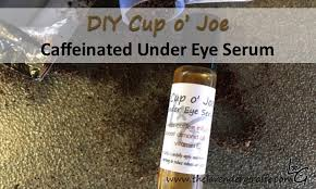 since i first started researching essential oil uses and diys i was drawn to this under eye serum featuring coffee infused carrier oil that i kept seeing