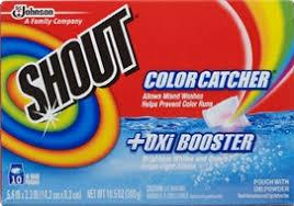 Shout Color Catcher Oxi Booster Sc Johnson