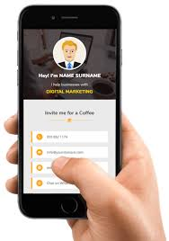 Digital Business Card Maker App Make My Vcard 39576454546