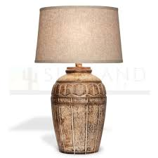 Sunland Home Decor Sunland Home Decor 29in Table Lamp With Shade Light Dark Sand