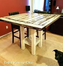 rustic bar height table large size of dining room rustic bar height bar height pub table