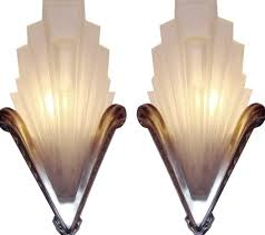 stainless steel sample mirrored art deco wall sconces awesome remarkable white wallpaper bulb inside bathroom