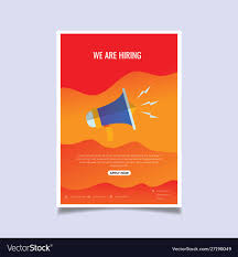 Job Hiring Poster Design We Are Hiring Poster Or Banner Design Job Vacancy