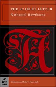 Scarlet Letter Book Cover The Scarlet Letter Barnes Noble Classics Nathaniel Hawthorne