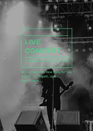 Concert Poster Design Poster Maker Design Live Music Concert Poster Online For