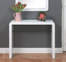 white console table with drawer. Atlantis Clarus High Gloss White Console Table With Drawer