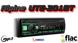 <b>Автомагнитола Alpine UTE-201BT</b> - обзор от интернет магазина ...