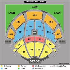 Pnc Bank Arts Center Seating Chart With Rows Experienced Detailed Seating Chart For Pnc Park Pnc Arts