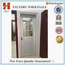 miraculous half glass door factory whole aluminum half glass door design aluminum