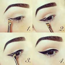 super easy wingliner tips with easy winged eye liner makeup tutorial