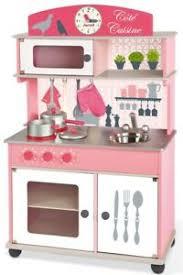 Cuisine En Bois Cote Cuisine Rose Janod 06565 Jouet En Bois Ebay