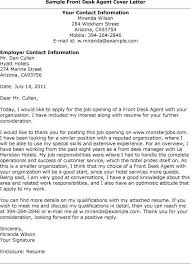 Front Desk Agent Resume Ckum Ca