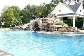 in ground pools with waterfalls. Plain Pools Pools With Waterfalls Swimming Above Ground Pool Waterfall For Sale 7 Maui In Ground Pools With Waterfalls L
