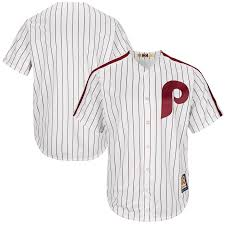 Cool Base Majestic Jersey Home Phillies Team Cooperstown Men's Philadelphia White red