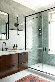 glass tile bathroom how to install glass tile on bathroom walls