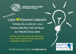 Lights On Afterschool Facts Clubs Keep Lights On Afterschool Boys Girls Clubs Of