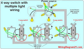 three way wiring diagram multiple lights wiring a 4 way switch Electrical Wiring Diagrams For Lighting multiple light switch wiring diagram three way wiring diagram multiple lights 4 way light switch wiring electrical wiring diagrams for lighting