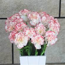 Искусственные <b>цветы</b> Гвоздика <b>декоративные</b> свадебные <b>цветы</b> ...