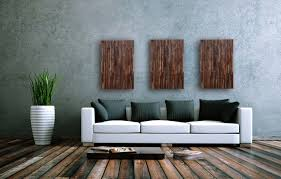 custom made reclaimed wood wall art 3 peice set 16