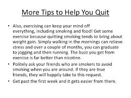write essay quit smoking dissertation philosophique sur la order of arguments in an essay