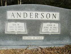 Ida Weaver Anderson (1873-1959) - Find A Grave Memorial