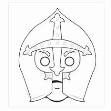 Masker Kleurplaat Mooi 19 Best Thema Carnaval Maskers Images On