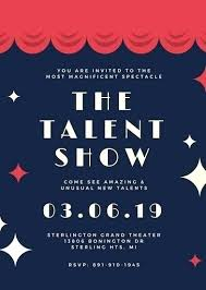 Talent Show Flyer Background Got Talent Show Designs And Fundraising Flyer Template Audition