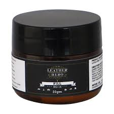 the leather filling compound is water based and air drying making your leather repair quick and easy