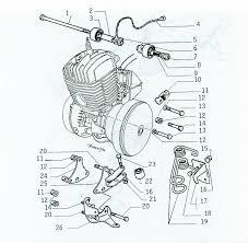 motobecane 50v engine spacers