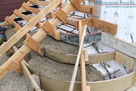 Diy concrete step Sidewalk How To Pour Concrete Step Pouring Concrete Over For Curved Exterior Stairs Diy Pour Concrete Steps Lochlloydinfo How To Pour Concrete Step How To Pour Concrete Step Cover Cement