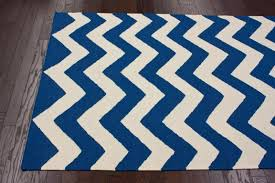 chevron area rug blue and white striped gray rugs doherty house contemporary style plush for living room s bedroom