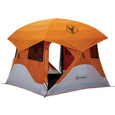 gazelle pop up portable camping hub tent 4 person