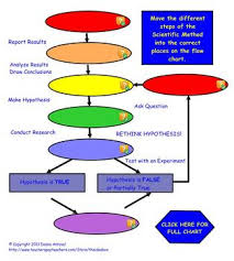 Scientific Method Chart Of Steps Scientific Method Notes And Interactive Flow Chart