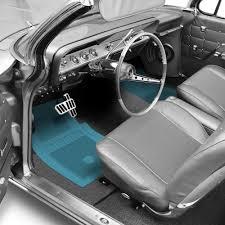 green car floor mats. Fine Car Light Blue Floor Mats With Bowtie Logo On Green Car