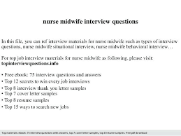 Interview Questions For New Graduates Midwife Resume Sample Sample Resume Sample Nursing Resume New Grad