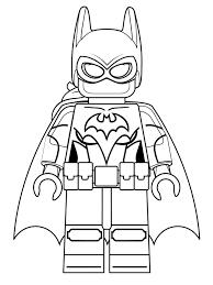Kids N Fun Kleurplaat Lego Batman Film Lego Batgirl