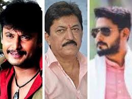Kannada Actors Height Chart Darshan Kannada Actors Darshan Devaraj And Prajwal