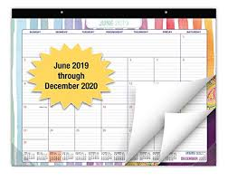 Academic Calendar 2020 17 Template Desk Calendar 2019 2020 Large Monthly Pages 22x17 Runs From June 2019 Through December 2020 Desk Wall Calendar Can Be Used Throughout 2020