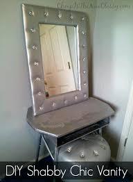 shabby chic vanity mirror tutorial sponsored is the new classy free standing shabby chic vanity mirror