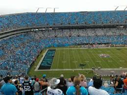 Bank Of America Stadium Section 517 Home Of Carolina Panthers