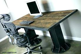 rustic office desk. Rustic Office Desk Furniture Small Computer Writing Oak . A
