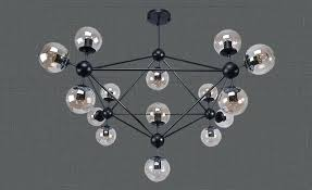 blown glass chandelier modern hand parts art creative miller led round home improvement beautiful licious lighting