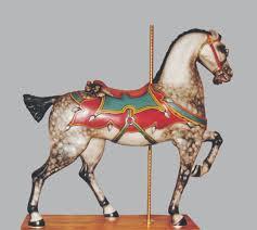 e joy morris ney antique carousel horse