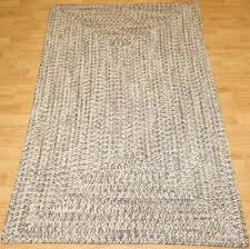 new area rug colonial mills blaise earthtone 3x5 braided reversible tweed beige