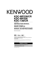 wiring diagram for kenwood kdc mp208 wiring image kenwood kdc mp208 radio cd manuals on wiring diagram for kenwood kdc mp208