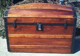 antique wooden chest all wood dome top steamer trunk of drawers antique wooden chest trunks